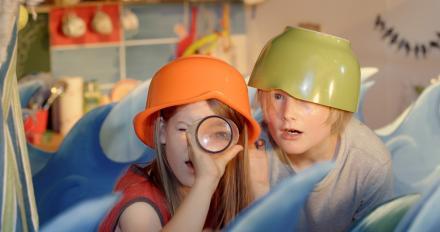 Ich sehe was, was du nicht siehst / I spy with my little eye /