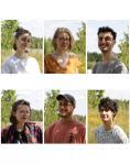 Laure de Châteaubourg, Clémence Janssens, Frédéric Mesnard, Elora Fievet, Julien Hoareau, Thomas Gillon