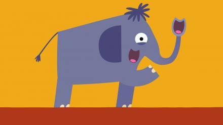 Elefant / Elephant /